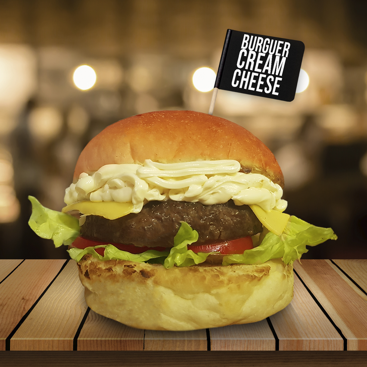 Chateau Burguer Cream Cheese